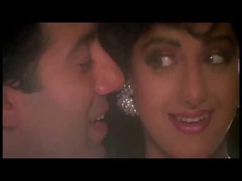 "Shridevi & Sunny Deol - ChaalBaaz- Клип из к/ф ""Плутовка"" (1989)"
