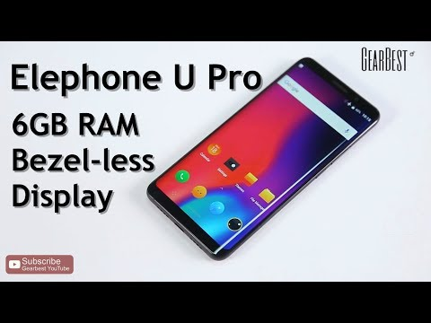 Elephone U Pro 4G Android Smartphone - GearBest