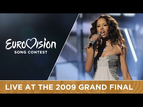 Jade Ewen - It's My Time (United Kingdom) Live 2009 Eurovision Song Contest