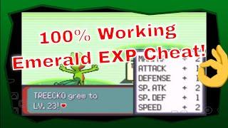 Pokemon Emerald EXP Cheat