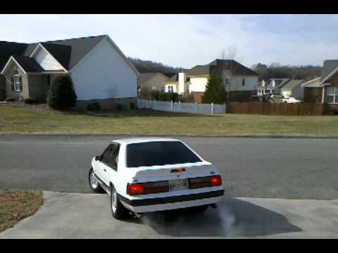 91 mustang with mac catback exhaust