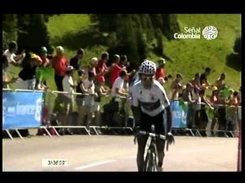 Nairo Quintana Ultimo Kilometro Etapa 20 Tour d France - 20 Julio 2013 - Señal Colombia