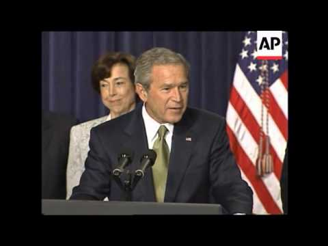 Bush on Central American Free Trade Agreement