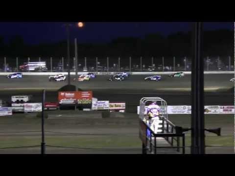 USMTS @ Deer Creek Speedway Hunt Race #13 B-Main #1  9-1-2012