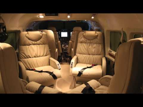 Private Jet Cabin Ambience – Cessna Caravan Airplane Interior (ASMR, Relaxation, White Noise)