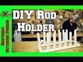 DIY PVC Fishing Rod Holder ~ Easy