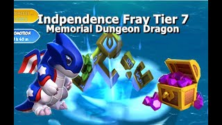Independence Fray Solo Event-Dragon Mania Legends | Opened 24 Chest Memorial Dragon | DML