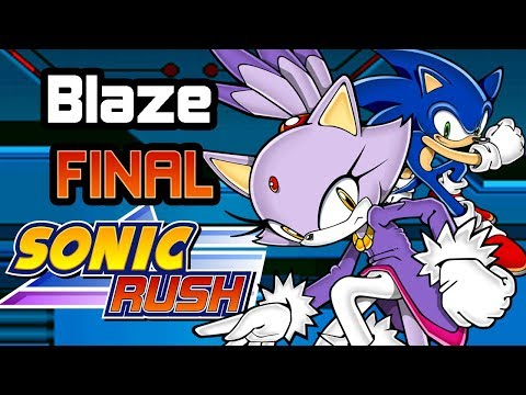 ¡Salvemos a Cream! | SONIC RUSH (BLAZE) FINAL - Español 1080p