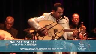 Noubas d'Alger, Lila Borsali et Abbas Righi, FMA 2014, Promo