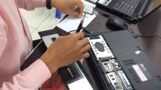 Asus A56C Change HDD to SSD
