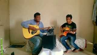 Der lagi lekin - ZMND (acoustic guitar cover) by animesh and punnet