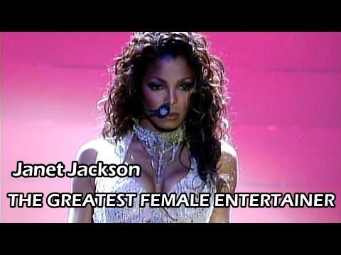 Janet Jackson - The Greatest Female Entertainer (MEGAMIX)