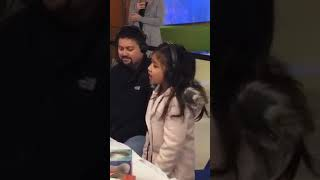 Angelica Hale a cool Christmas Song in a talk show