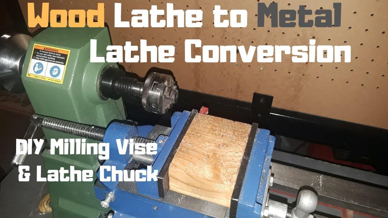 Wood Lathe to Metal Lathe Conversion