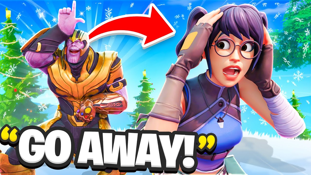 I Trolled My Girlfriend With The THANOS Skin...