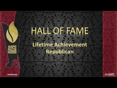 2017 Pollie Awards & Conference: Hall of Fame Ceremony