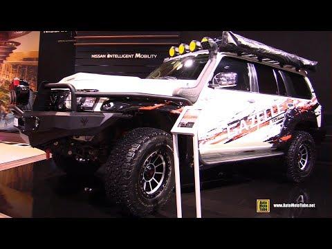 2019 Nissan Patrol Gazelle Storm Concept - Exterior Interior Walkaround  2019 Dubai Motor Show