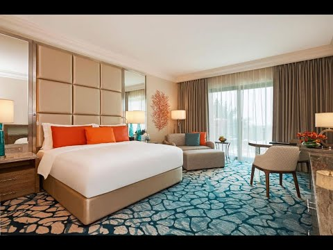 Dubai Atlantis The Palm Refurbished Palm King Room with Balcony – New Palm View Room Atlantis Dubai