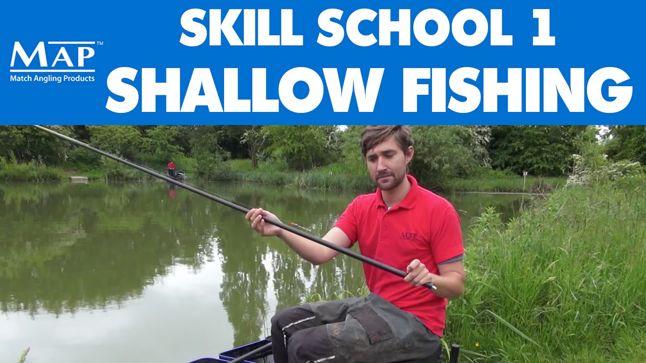 Skill school pt1 shallow fishing on the pole funnycat tv for The fishing school