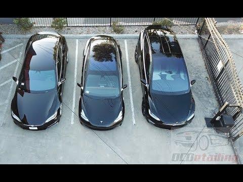 First Look - Tesla Model 3 - OCDetailing