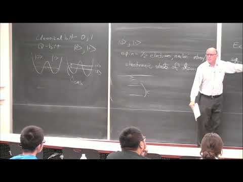 Steven Lyon, Overview of quantum computing and physical implementation
