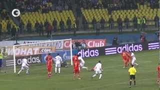 Футбол - Сборная России 1:0 Сборная Португалии. Обзор матча