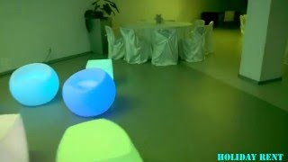 LED мебель аренда. Аренда оборудования на праздник HOLIDAY RENT(, 2016-01-31T13:02:45.000Z)