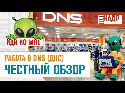 Работа в ДНС (DNS) ЧЕСТНЫЙ ОБЗОР | Топ Кадр