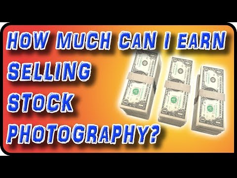 How Much Can I Earn Selling Stock Photography - Stock Photography Ep. 26