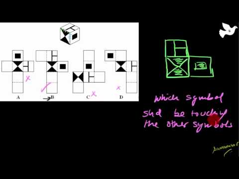 Cubes and Dices Non verbal reasoning   Part 2