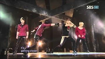 MBLAQ - Again (엠블랙-다시) @SBS Inkigayo 인기가요 20110227