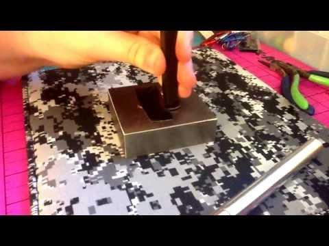 DIY hand stamped jewelry