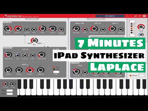 7 Minutes With An iPad Synth -  Laplace By iceWorks | SYNTH ANATOMY
