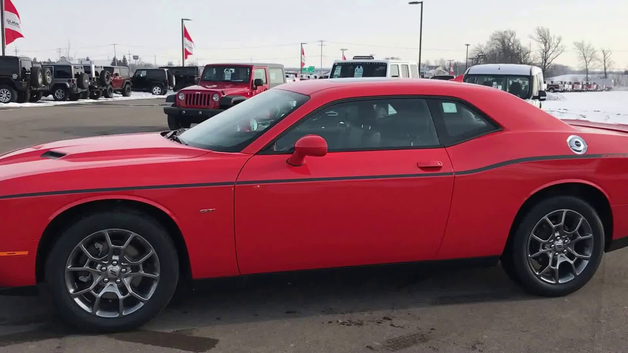 sold all new 2017 dodge challenger gt awd all wheel drive go mango 36 275. Black Bedroom Furniture Sets. Home Design Ideas
