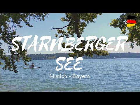 STARNBERGER SEE Bayern München Deutschland 4K   Lake Starnberger Bavaria Munich Germany    Munich 4K