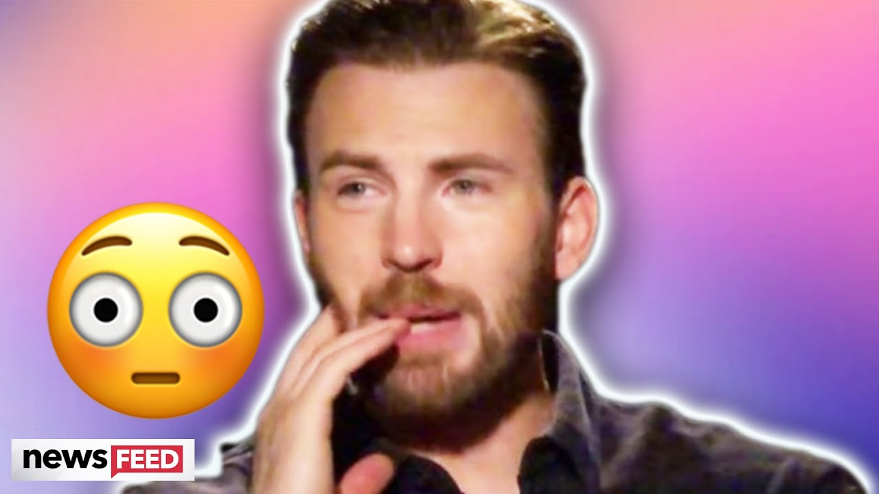 Chris Evans Responds To Accidentally Sharing NSFW Photos