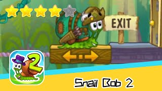 Snail Bob 2 Island Story 26 27 Walkthrough Play levels and build areas! Recommend index four stars