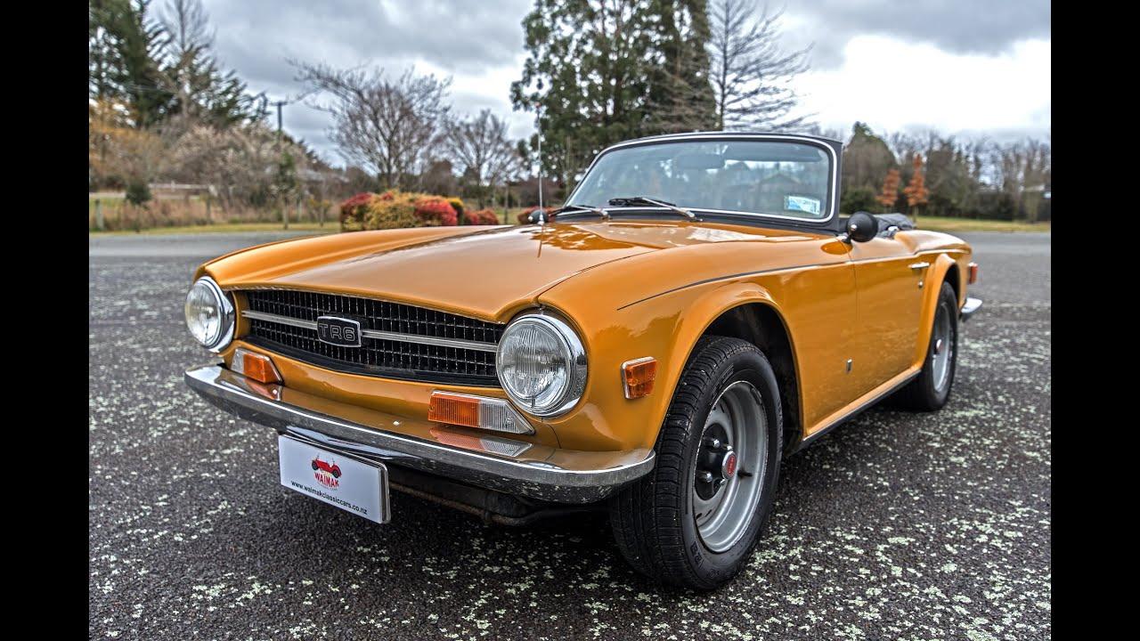 Triumph Pi Waimak Classic Cars New Zealand Youtube