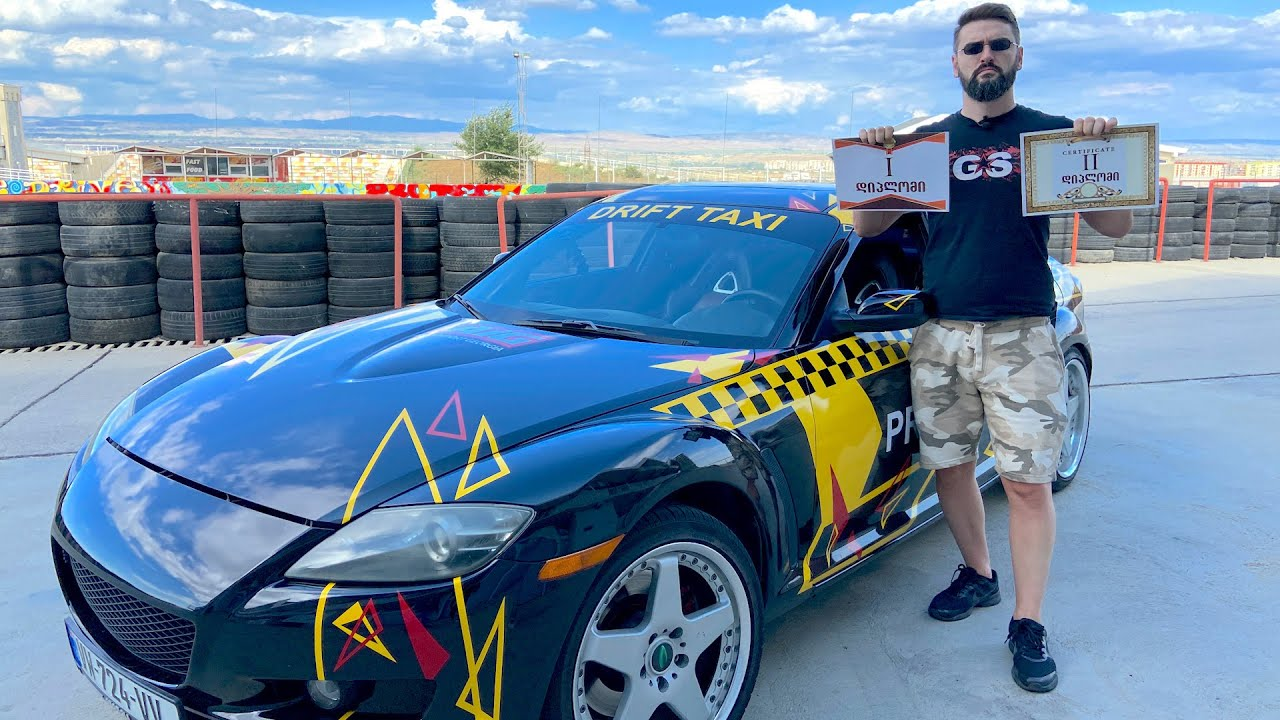 Drift Taxi – სერია #8 – ტესტ დრაივი ავტოდრომზე!