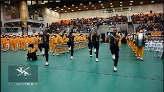 North Carolina A&T University Marching In @ the 2019 Band Brawl