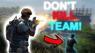 BO4-What Happens If You KILL Teammate!! DONT Kill your Squad OR This Will Happen!!