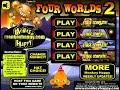 Monkey GO Happy Four Worlds 2 Walkthrough [PencilKids]