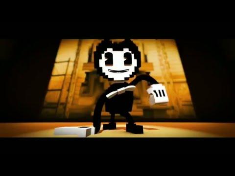 Бенди и чернильная машина анимация майнкрафт