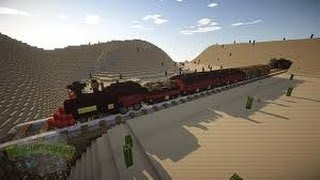 Как легко и быстро сделать поезд в Minecraft БЕЗ МОДОВ !!!(, 2015-01-01T16:52:34.000Z)