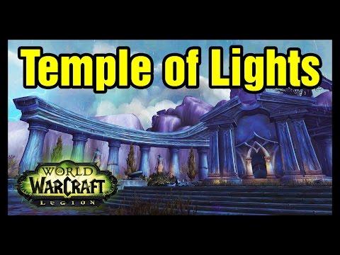Temple of Lights Location WoW Explore Azsuna