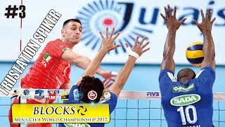 FRUSTATION SPIKER ● Blocks of Men's Club World Championship 2017 - Part 3