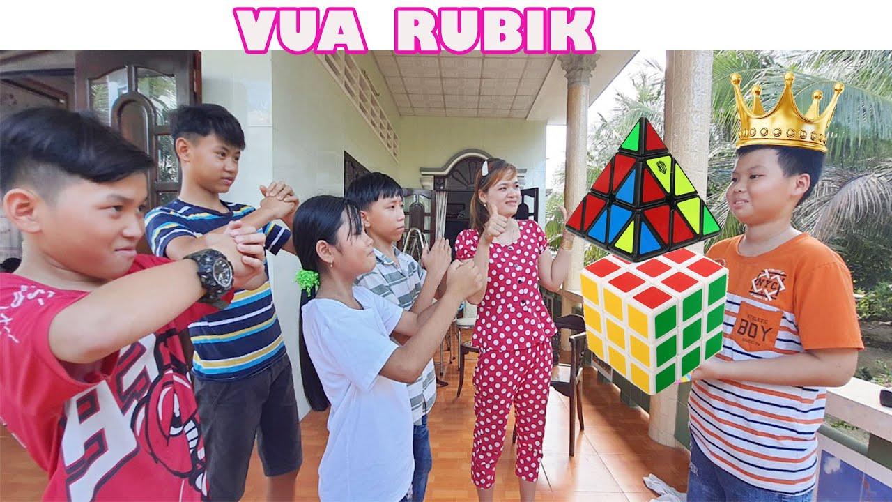 Tìm Ra Người Giải Rubik Nhanh Nhất – Cuộc Thi Rubik [ FPL CHANNEL ]