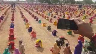 Creating new world record by more than 2000 rajputanis. By talvar Ras