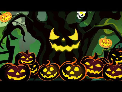 Halloween Tree | Original Songs | Scary Nursery Rhymes | Kid