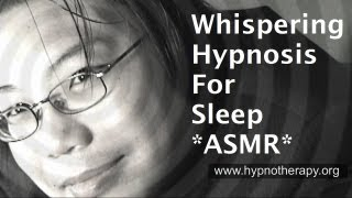 whispering hypnosis for sleep and relaxation - ASMR Male voice (Hypnotist Bernie)